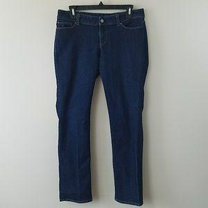 Ann Taylor Petite Modern Fit Straight Leg Jeans